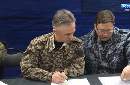 Программа «Служу на Балтике. Служу России» телеканала «Россия 1»