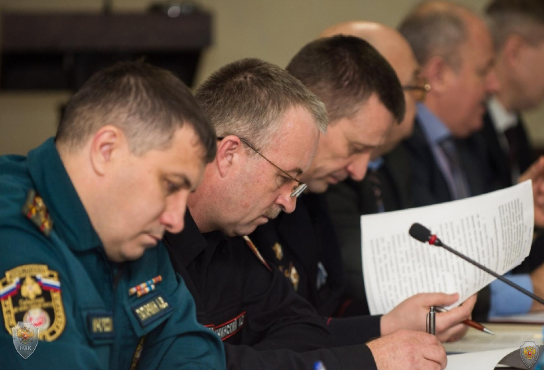 Проведено заседание  антитеррористической комиссии  и оперативного штаба в Республике Хакасия