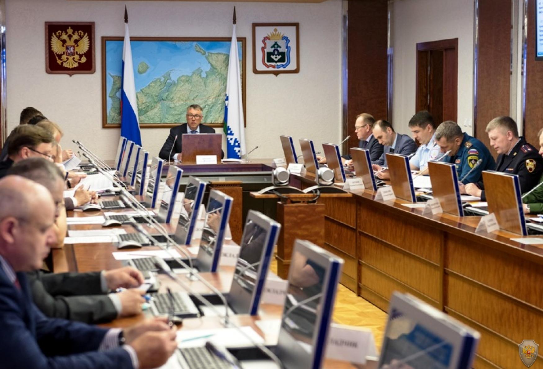 Заседание прошло под председательством губернатора Ненецкого автономного округа Кошина И.В.