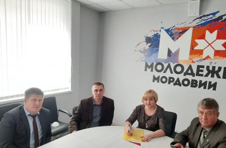 В Мордовии при участии аппарата АТК прошел урок мужества для молодежи