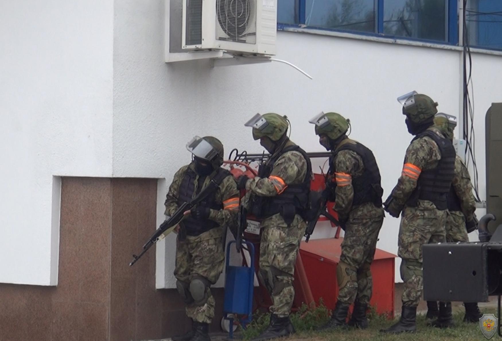Оперативным штабом в КБР проведены учения  по пресечению угроз террористического характера