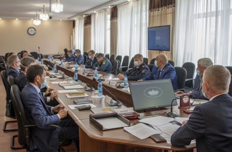 Совместное заседание антитеррористической комиссии и оперативного штаба в Республике Тыва от 02 сентября 2020 года (общий план)