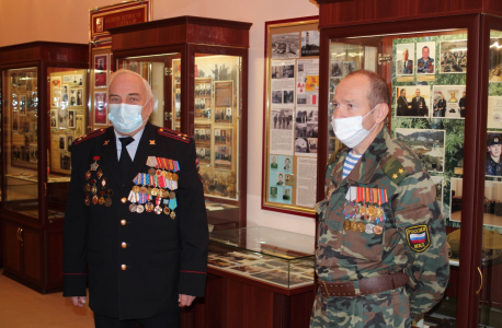 Музей УМВД России по Орловской области открыл свои двери для учащихся