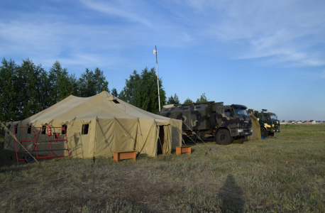 Оперативным штабом в Челябинской области  проведено командно-штабное учение «Рельеф-2021»