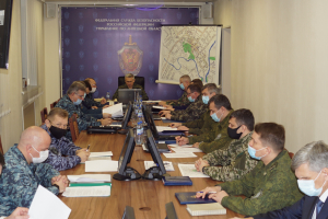 Оперативным штабом в Липецкой области проведено командно-штабное антитеррористическое учение
