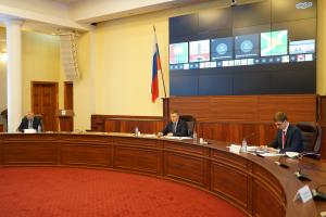 Состоялось заседание антитеррористической комиссии в Иркутской области