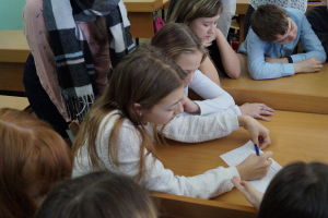 В Нарьян-Маре сотрудники группы  по противодействию экстремизму УМВД провели классный час для школьников