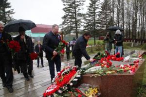 Губернатор Подмосковья, председатель АТК Московской области Андрей Воробьев принял участие в акции «Бессмертный полк»