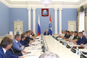 Н.И.Меркушкин обсудил обеспечение безопасности учебных учреждений в День знаний