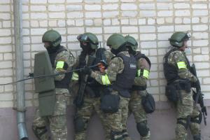 Оперативным штабом в Орловской области проведено тактико-специальное учение «Гроза»