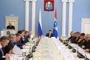 Дмитрий Азаров провел заседание антитеррористической комиссии региона