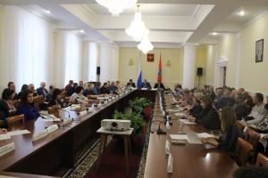 Заседание Межведомственного координационного совета по вопросам развития торговой деятельности на территории Орловской области