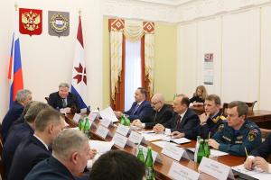 Глава Мордовии Владимир Волков провел совместное заседание антитеррористической комиссии и оперативного штаба