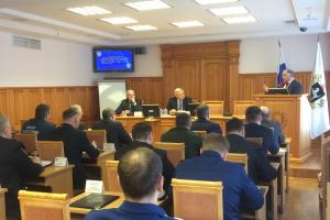 Губернатор Сергей Жвачкин провел в администрации региона совместное заседание областной антитеррористической комиссии и областного оперативного штаба Томской области