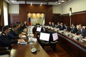 Заседание антитеррористической комиссии Республики Башкортостан