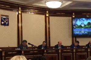 Заседание антитеррористической комиссии Ленинградской области