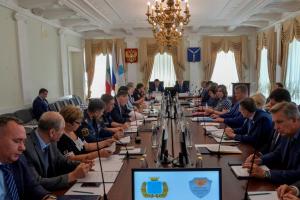В администрации муниципального образования « Город Саратов» прошло выездное совместное заседание областных антитеррористической комиссии и оперативного штаба