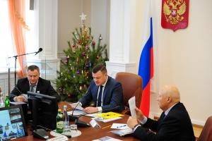 Александр Никитин провел очередное совместное заседание Антитеррористической комиссии и Оперативного штаба в Тамбовской области