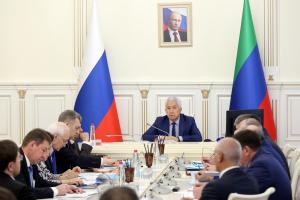 Владимир Васильев провел заседание Антитеррористической комиссии в Республике Дагестан
