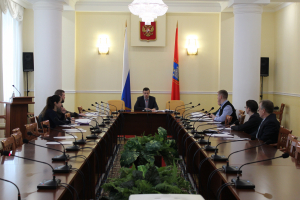 В администрации Орловской области проведено занятие с сотрудниками органов исполнительной власти