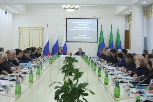 Владимир Васильев провёл заседание Антитеррористической комиссии в РД