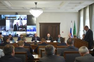 Глава Республики Адыгея Мурат Кумпилов провел совместное заседание Антитеррористической комиссии и Оперативного штаба в Республике Адыгея