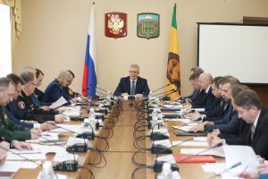 Совместное заседание АТК и ОШ в Пензенской области