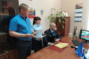 В Калининградской области транспортные полицейские и члены Общественного совета провели для детей онлайн-акцию