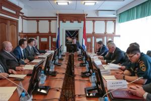 Владимир Миклушевский провел внеочередное заседание антитеррористической комиссии