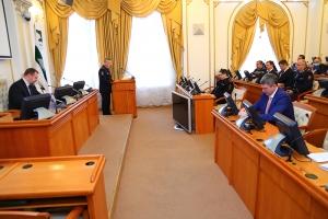 Совместное заседание антитеррористической комиссии в Курганской области  и Оперативного штаба Курганской области