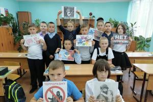Томская молодежь почтила память жертв терактов