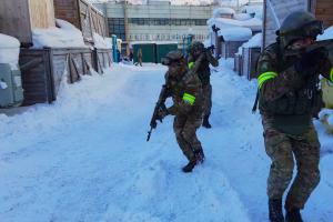 Оперативным штабом в морском районе в городе Мурманске проведено учение