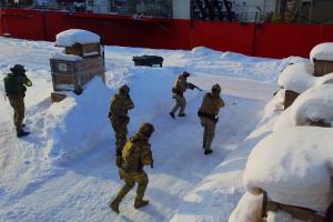 Оперативным штабом в морском районе (бассейне) в городе Мурманске проведено специальное комплексное занятие