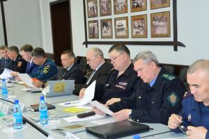 Глава Тувы Шолбан Кара-оол провел совместное заседание антитеррористической комиссии и оперативного штаба