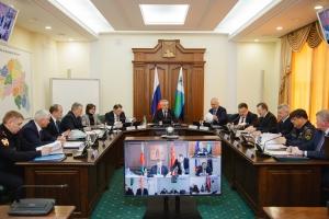 Заседание  Антитеррористической комиссии и  Оперативного штаба в Белгородской области