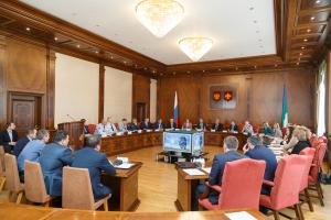 Глава Республики Коми Сергей Гапликов провёл плановое заседание Антитеррористической комиссии