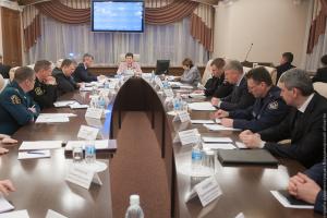 Заседание антитеррористической  комиссии Владимирской  области