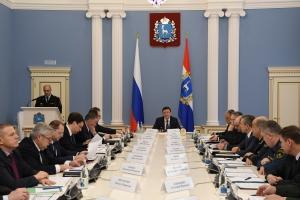 На антитеррористической комиссии обсудили обеспечение безопасности граждан в период новогодних праздников