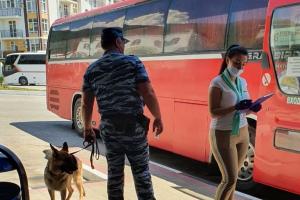 Проведены внеплановые тренировки по проверке антитеррористической защищенности на автовокзалах