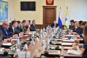 Глава Ставрополья провел заседание краевой АТК