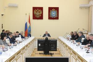 Прошло заседание антитеррористической комиссии и оперативного штаба в Самарской области
