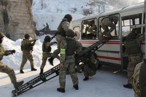 Оперативным штабом в Красноярском крае проведено тактико-специальное