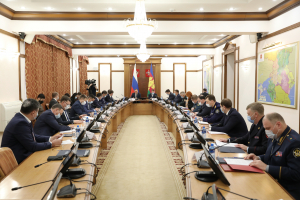 Состоялось совместное заседание антитеррористической комиссии и оперативного штаба в Краснодарском крае