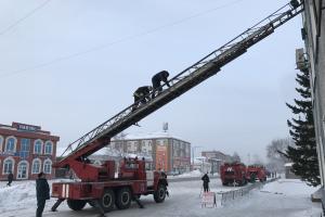 В Кемеровской области проведено командно-штабное учение «Гроза-2017»
