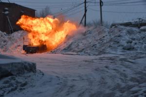 На территории нп Яшкино Кемеровской области по плану НАК под руководством оперативного штаба в Кемеровской области проведено антитеррористическое учение «Циклон – 2019».