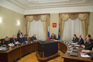На расширенном заседании антитеррористической комиссии Астраханской области с участием глав муниципальных образований подведены итоги работы антитеррористической комиссии Астраханской области в 2016 году