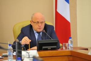 Губернатор Виктор Назаров провел заседание Антитеррористической комиссии Омской области