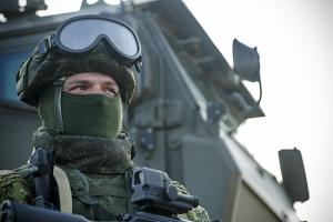 С российскими военнослужащими в Приднестровье проведена тренировка по противодействию терроризму