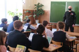 Патриотическое занятие со школьниками проведено в Орле