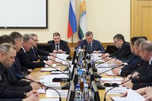 Совместное заседание  областной антитеррористической комиссии и оперативного штаба  в Кировской области